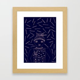 Can I 'PENCIL' you in for a date? Framed Art Print