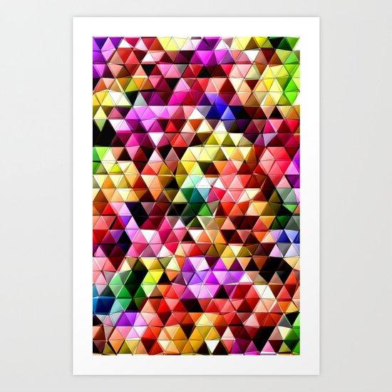 Bursting Art Print