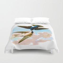 White-bellied Swallow Bird Duvet Cover