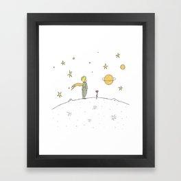 Little Prince II Framed Art Print