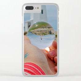 Peggy's Cove LightHouse Clear iPhone Case
