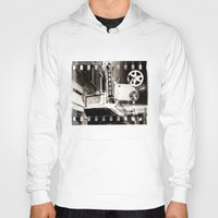 theater Hoodies featuring Turnage Theater by Justin Alan Casey