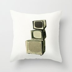 Multi Screen Cinema Throw Pillow