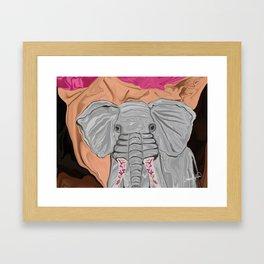Tusk's Manicure Framed Art Print