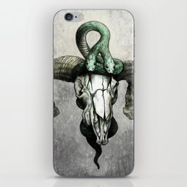 Hell followed with him iPhone Skin