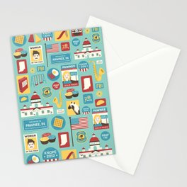 Parks and Recreation Stationery Cards