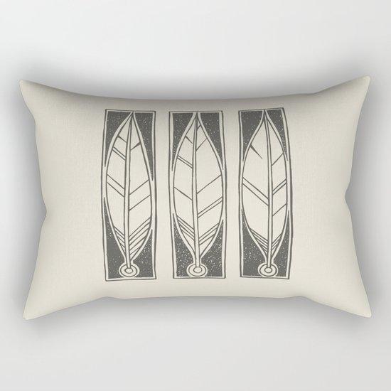 Ethnic Feathers Rectangular Pillow