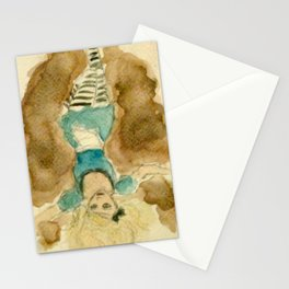 Down Falls Alice Stationery Cards