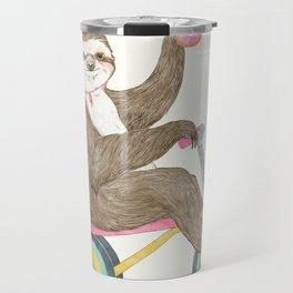 birthday sloth Travel Mug