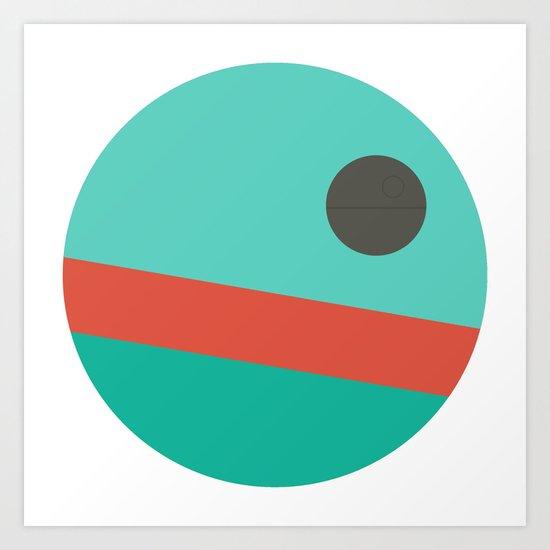 Galactic Holidays Art Print