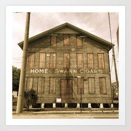 Historic Ybor Building Art Print