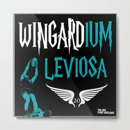 WINGARDium Leviosa (Chad Wingard - AFL Mark of the Year) Metal Print
