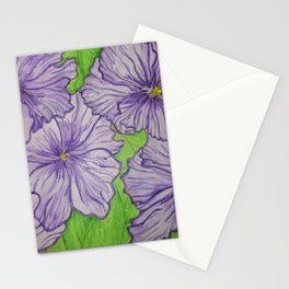 Iris flowers Stationery Cards