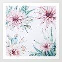 Cactus flowers by hunterofwoods