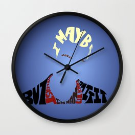 Spike - Buffy the vampire slayer Wall Clock