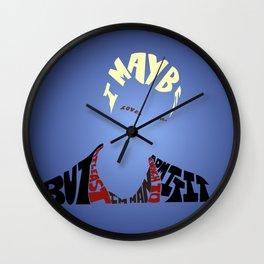 Spike - Buffy the vampire slayer Wall Clock