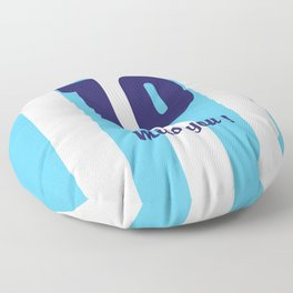 Diego Maradona - Argentina - Miss you Number 10 Floor Pillow