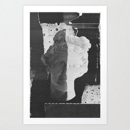 Bust 001 Art Print