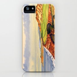 Bandon Dunes Golf Course 13th Hole iPhone Case