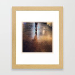 Leg & leg Framed Art Print