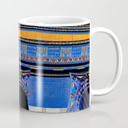 Philadelphia Museum Acropolis / Black Coffee Mug