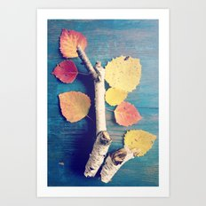 It's a Colorful World 2 Art Print