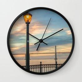 Lamp Post Wall Clock