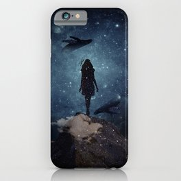 Deep dreams iPhone Case
