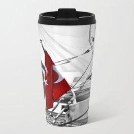 Flag of Turkey - Selective Coloring Travel Mug
