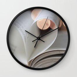 Book Love Wall Clock
