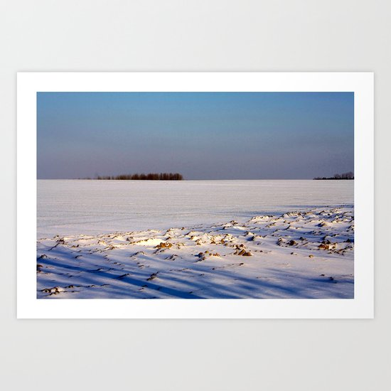 Void of Winter Art Print