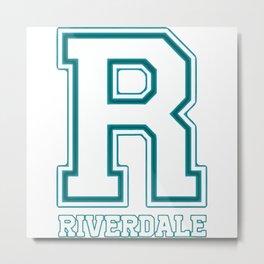 Riverdale R Metal Print