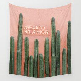 Mexico Mi Amor Wall Tapestry