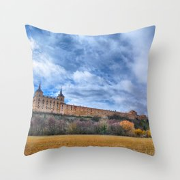 Ducal palace at Lerma, Castile and Leon. Spain. Throw Pillow