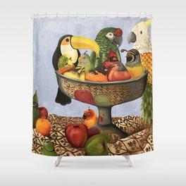 Bird Still Life Shower Curtain