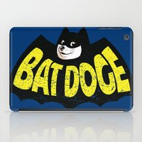 doge iPad Cases featuring BatDoge (Shibe Doge) by Tabner's