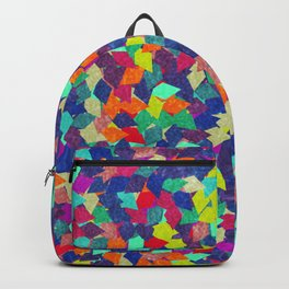 Colorful Geometric Pattern #10 Backpack