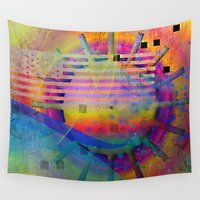 submarine Wall Tapestries featuring submarine by Kay Weber