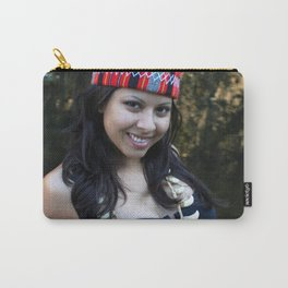Indian Woman Carry-All Pouch