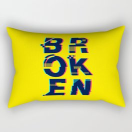Typo Rectangular Pillow