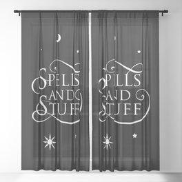 Spells & Stuff Sheer Curtain