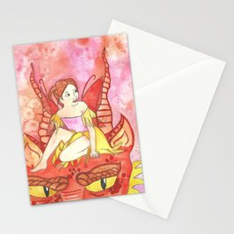 Dragon Tamer Fairy Stationery Cards