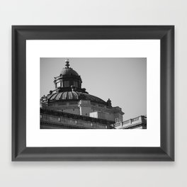 In The District  Framed Art Print