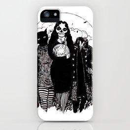 Halloween Trio iPhone Case