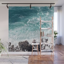Teal-ness Wall Mural