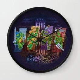 Ninja Teen Turtle Mutants xstat Wall Clock