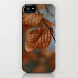 Golden Times iPhone Case