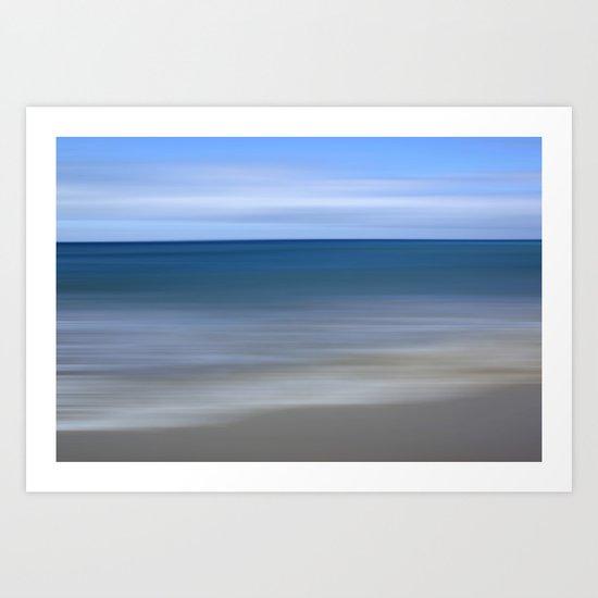 summer beach III Art Print