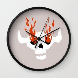 I see fire Wall Clock