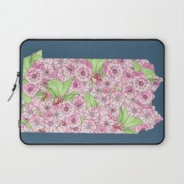 Pennsylvania in Flowers Laptop Sleeve